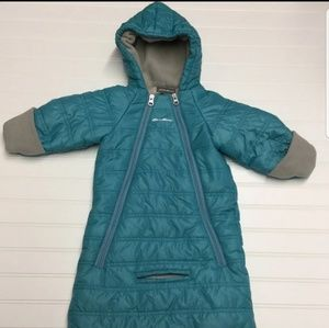 Eddie Bauer Infant Snowsuit-bunting bag